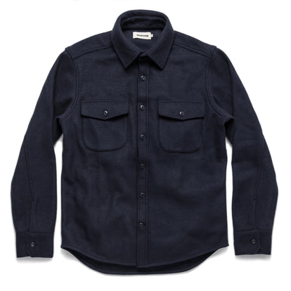 The Maritime Shirt Jacket in Navy: Alternate Image 9