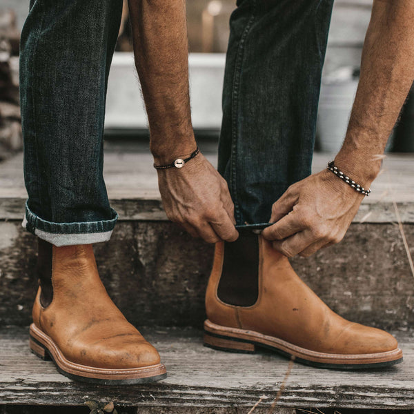 Mens Boots Over or Under Jeans