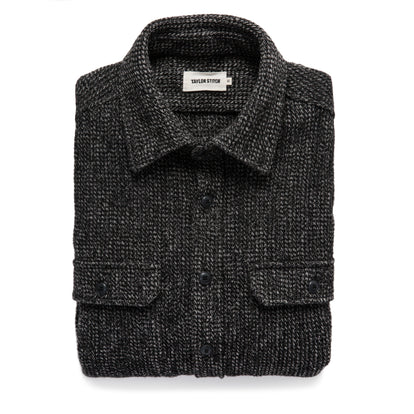 The Summit Shirt in Heather Charcoal Waffle: Featured Image