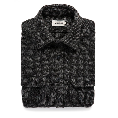 The Summit Shirt in Heather Charcoal Waffle - featured image