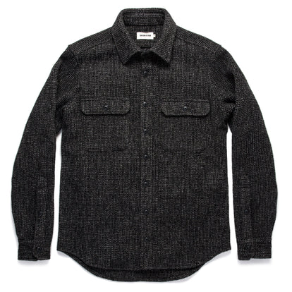 The Summit Shirt in Heather Charcoal Waffle: Alternate Image 9