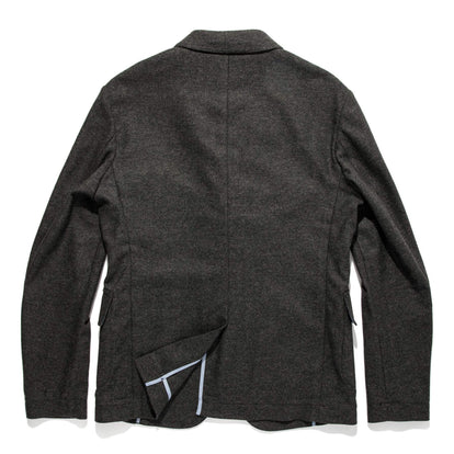 The Telegraph Jacket in Charcoal Herringbone: Alternate Image 10