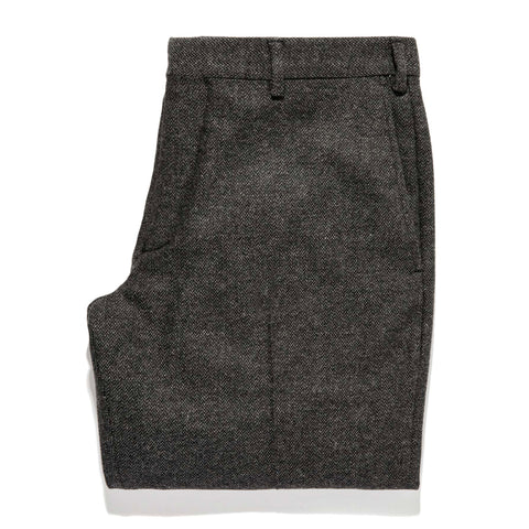 The Telegraph Trouser in Charcoal Herringbone - featured image