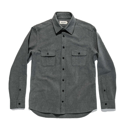 The Yosemite Shirt in Heather Charcoal: Alternate Image 8