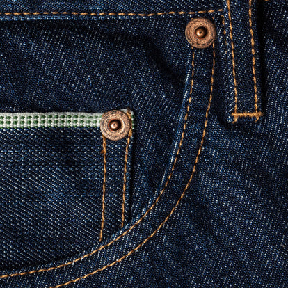 The Democratic Jean in 3 Month Rinse Selvage: Alternate Image 6