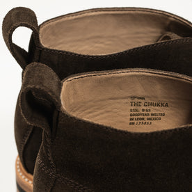 The Chukka in Weatherproof Loden Suede: Alternate Image 7