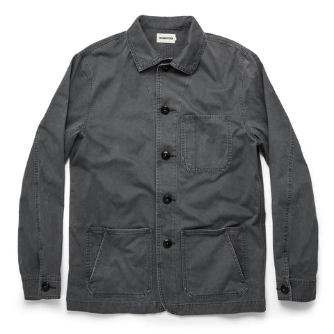 The Ojai Jacket in Washed Charcoal - featured image
