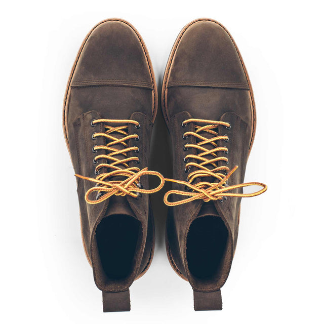 The Mark Boot in Flint Oiled Nubuck