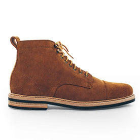The Mark Boot in Peanut Oiled Rough Out: Featured Image