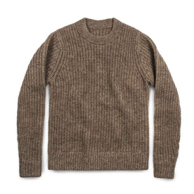 The Whaler Sweater in Alpaca Wool: Featured Image