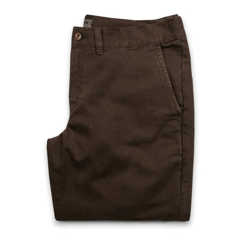 The Slim Chino in Chocolate - featured image