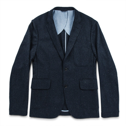 The Telegraph Jacket in Navy Donegal - featured image