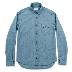 The Oxnard in Sun Bleached Chambray: Alternate Image 7