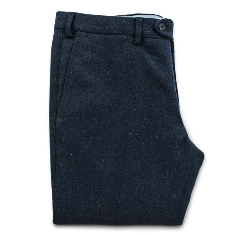 The Telegraph Trouser in Navy Donegal - featured image