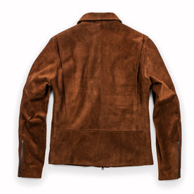 The Moto Jacket in Tobacco Weatherproof Suede: Alternate Image 14