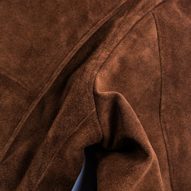 The Moto Jacket in Tobacco Weatherproof Suede: Alternate Image 10