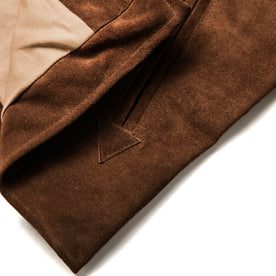 The Moto Jacket in Tobacco Weatherproof Suede: Alternate Image 12