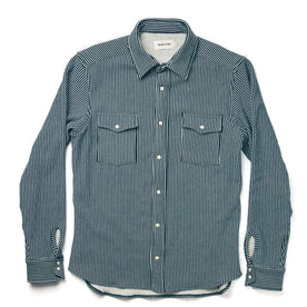 The Glacier Shirt in Hickory Stripe French Terry: Alternate Image 7