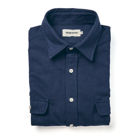 The Yosemite Shirt in Navy - featured image