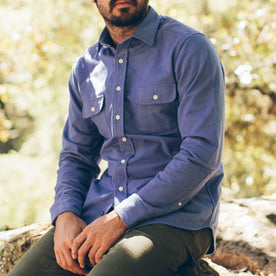 The Yosemite Shirt in Wild Lupine: Alternate Image 1