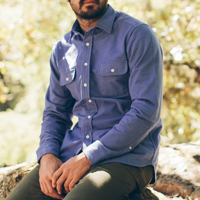 The Yosemite Shirt in Wild Lupine