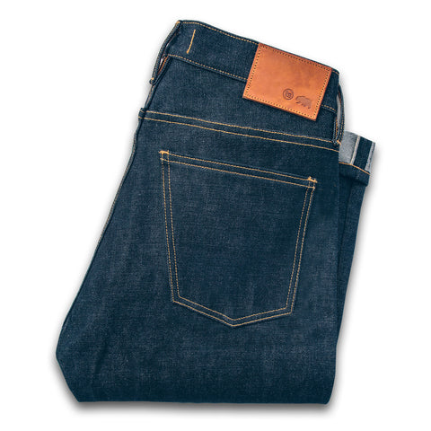 The Slim Jean in Kaihara Mills Selvage - featured image