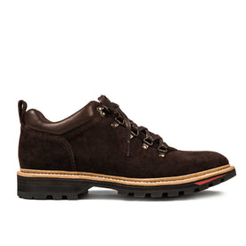 The Hiker in Chocolate Weatherproof Suede: Featured Image