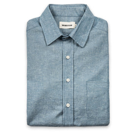 The Short Sleeve California in Slub Chambray: Featured Image
