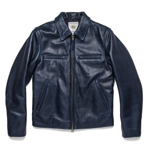 The Moto Jacket in Midnight Steerhide - featured image