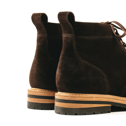 The Moto Boot in Weatherproof Chocolate Suede: Alternate Image 11