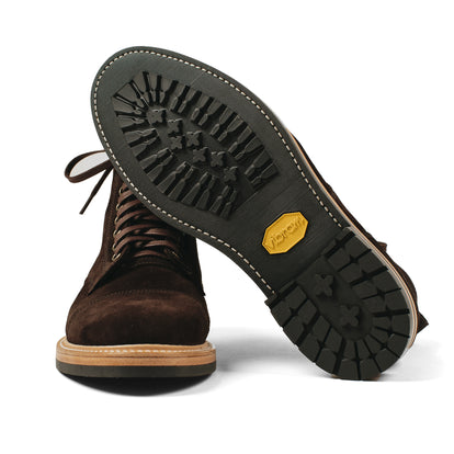 The Moto Boot in Weatherproof Chocolate Suede: Alternate Image 14