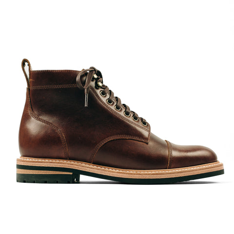 The Moto Boot in Whiskey Eagle - featured image