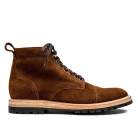 The Moto Boot in Weatherproof Snuff Suede - featured image