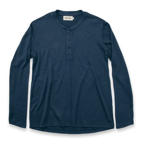 The Merino Henley in Indigo - featured image