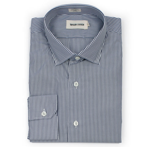 The Hyde in Navy Bengal Stripe - featured image