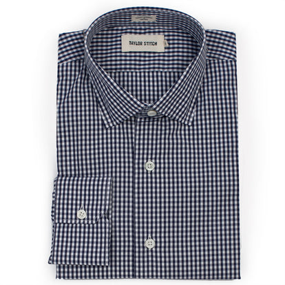 The Hyde in Navy Mini Gingham: Featured Image