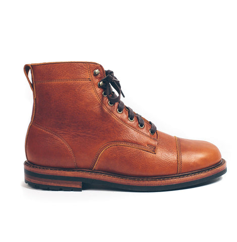 The Moto Boot in Whiskey Steerhide - featured image