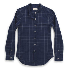 The Piper Shirt in Nautical Plaid