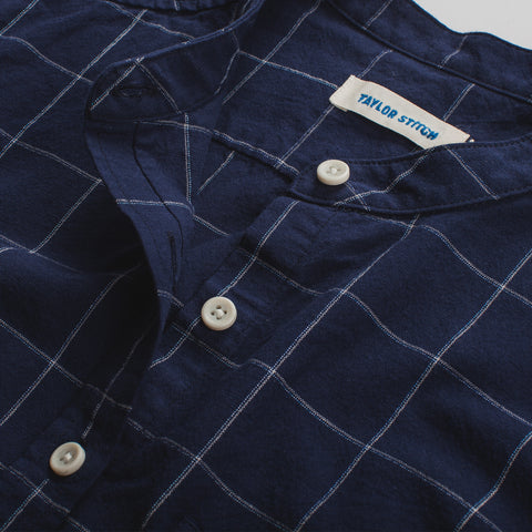The Piper Shirt in Nautical Plaid - alternate view