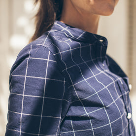 The Piper Shirt in Nautical Plaid: Alternate Image 2