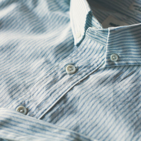 Antique Blue Stripe Popover Jack - alternate view