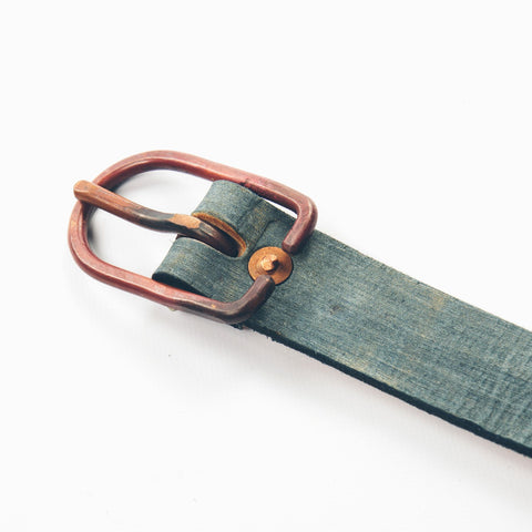 The Cause & Effect Belt in Painted Indigo - alternate view