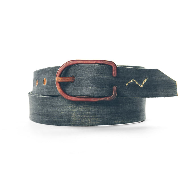 The Cause & Effect Belt in Painted Indigo
