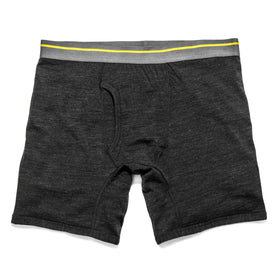 The Merino Boxer in Heathered Black - featured image