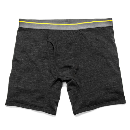 The Merino Boxer in Heathered Black: Featured Image