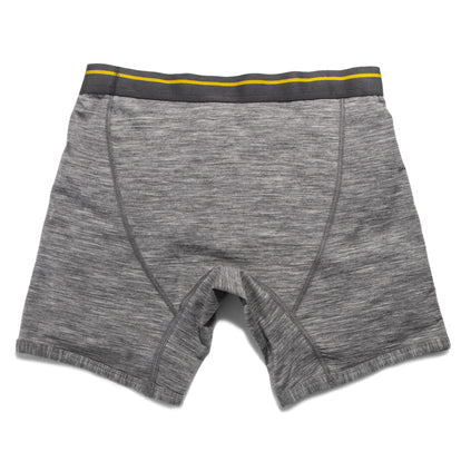 The Merino Boxer in Heather Grey: Alternate Image 4