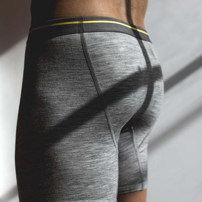The Merino Boxer in Heather Grey: Alternate Image 2