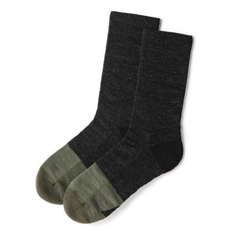 The Merino Sock in Dipped Moss - featured image