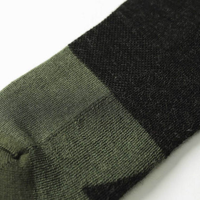 The Merino Sock in Dipped Moss: Alternate Image 1