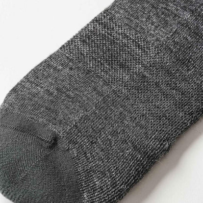 The Merino Sock in Solid Charcoal: Alternate Image 1